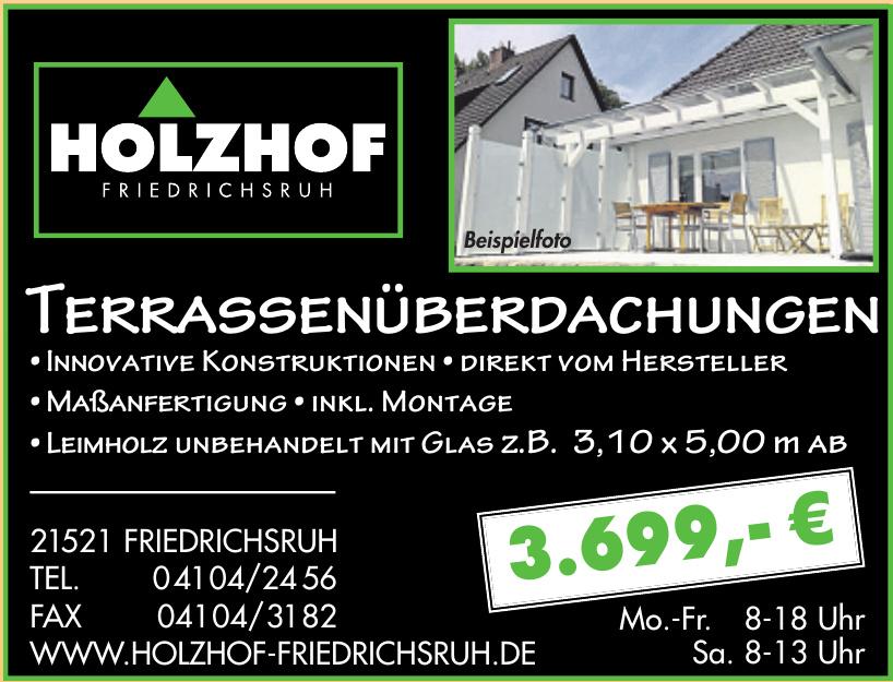 Holzhof Friedrichsruh