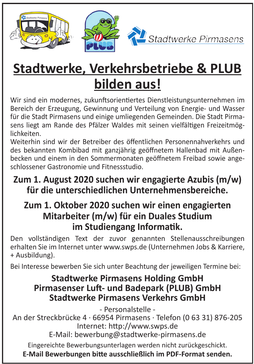 Stadtwerke Pirmasens