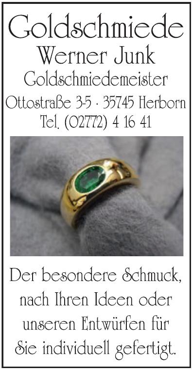 Goldschiede Werner Junk