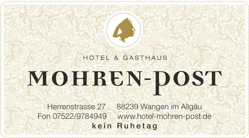 Hotel Mohren-post