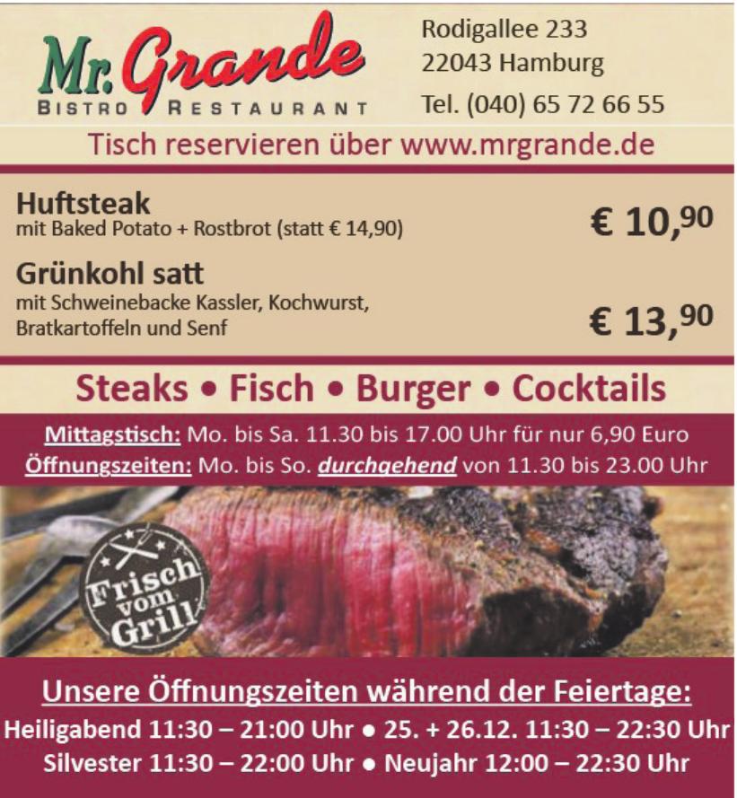 Mr. Grande Restaurant