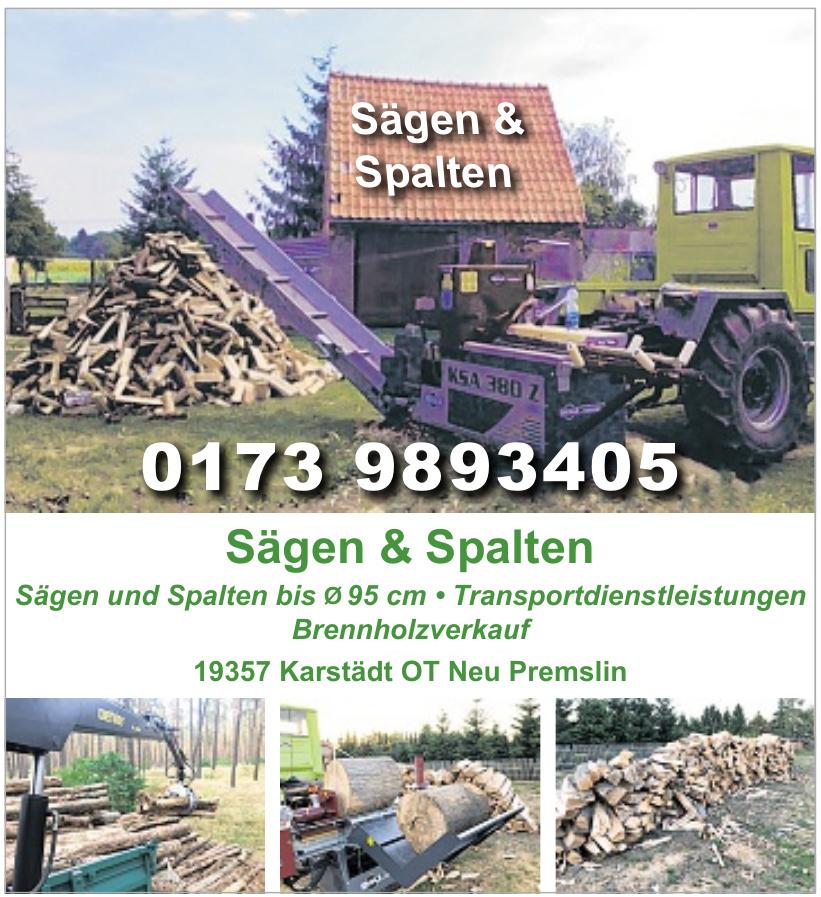 Sägen & Spalten