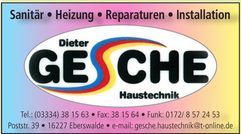 Dieter Gesche Haustechnik