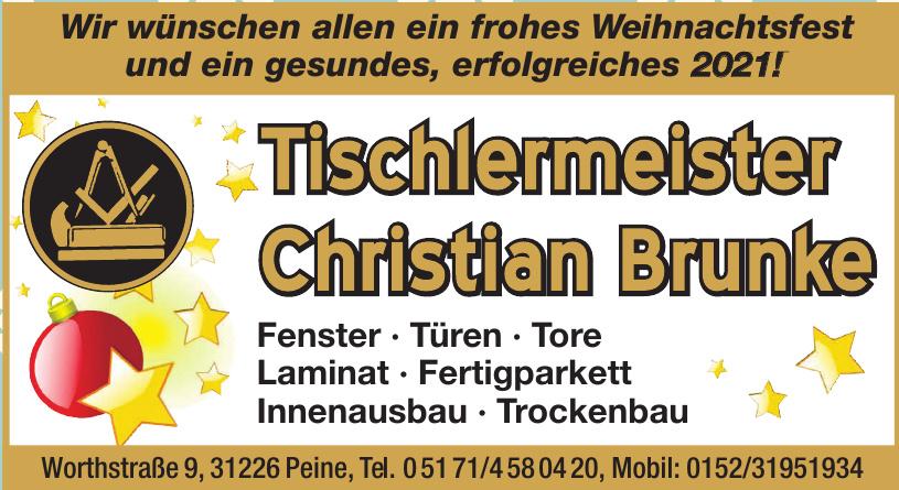 Tischlerei Christian Brunke