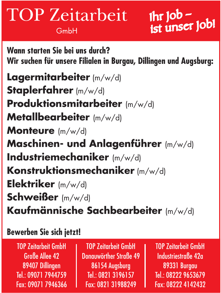 TOP Zeitarbeit GmbH