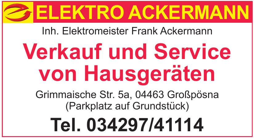 Elektro Ackermann