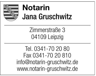 Notarin Jana Gruschwitz