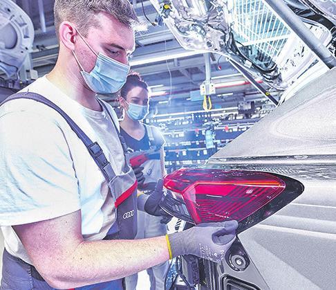 Audi-Montage in Zwickau