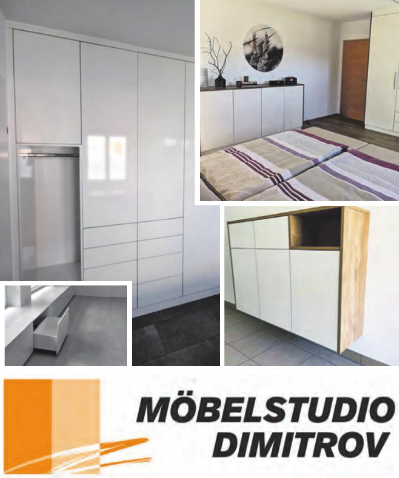Wir haben alles für Ihr Wohlfühlzuhause Fotos: Möbelstudio Dimitrov