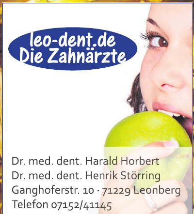 Zahnärztliche Gemeinschaftspraxis Dres. med. dent. Horbert und Störring