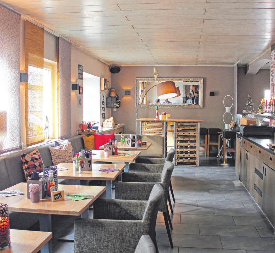 Stilvoll essen: Das Restaurant Melbo ist bekannt für seine familiäre Atmosphäre und seine Burger-Spezialitäten. FOTOS: RUE