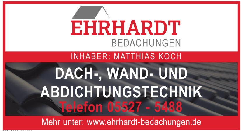 Ehrhardt Bedachungen