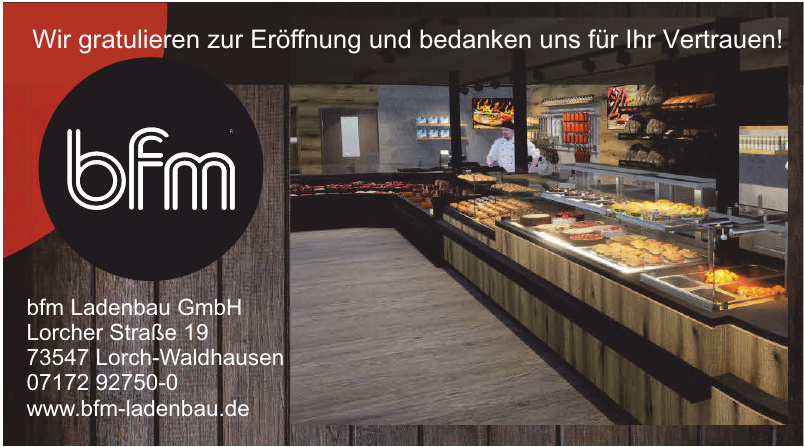 bfm Ladenbau GmbH