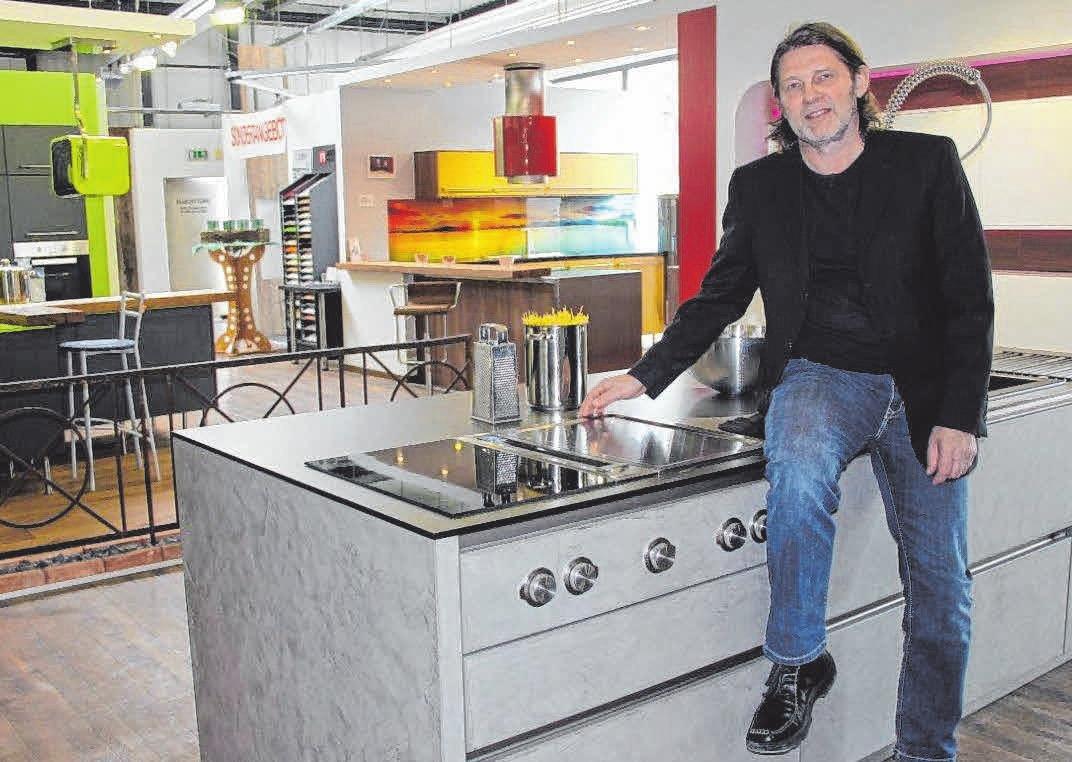 Messeneuheiten gibt es beim Küchenstudio Auer zu bestaunen. FOTO:PM