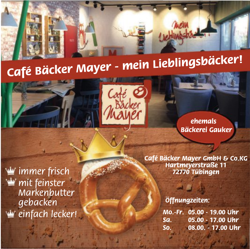 Café Bäcker Mayer GmbH & Co. KG