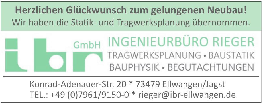 ibr Ingenieurbüro Rieger GbmH