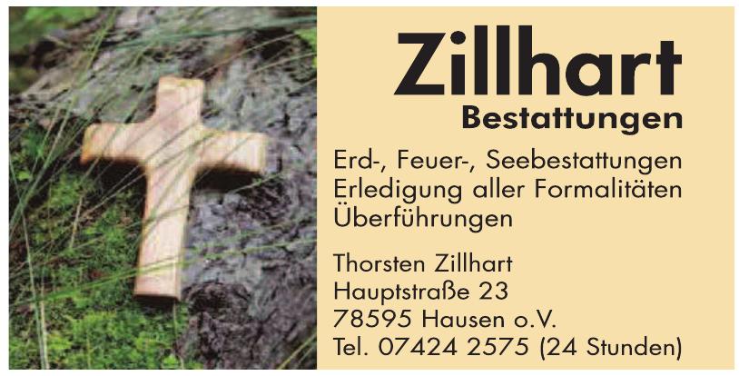 Zillhart Bestattungen