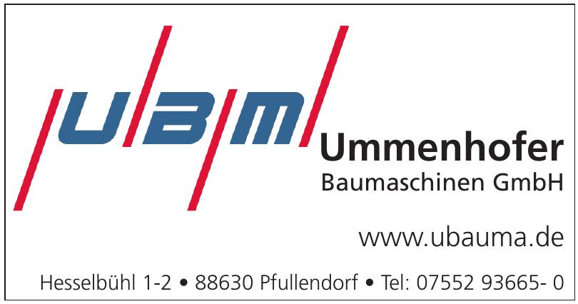 Ummenhofer Baumaschinen GmbH