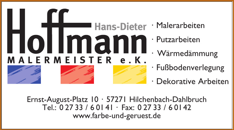 Hoffmann Malermeister e. K.