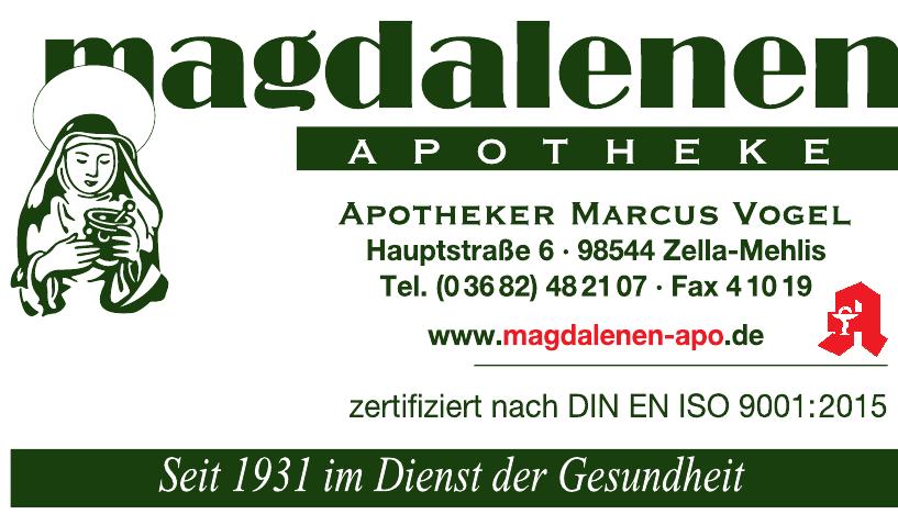 Magdalenen Apotheke Apotheker Marcus Vogel