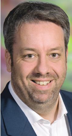 Christian Bahl freut sich über die Auszeichnung für Nachhaltigkeit