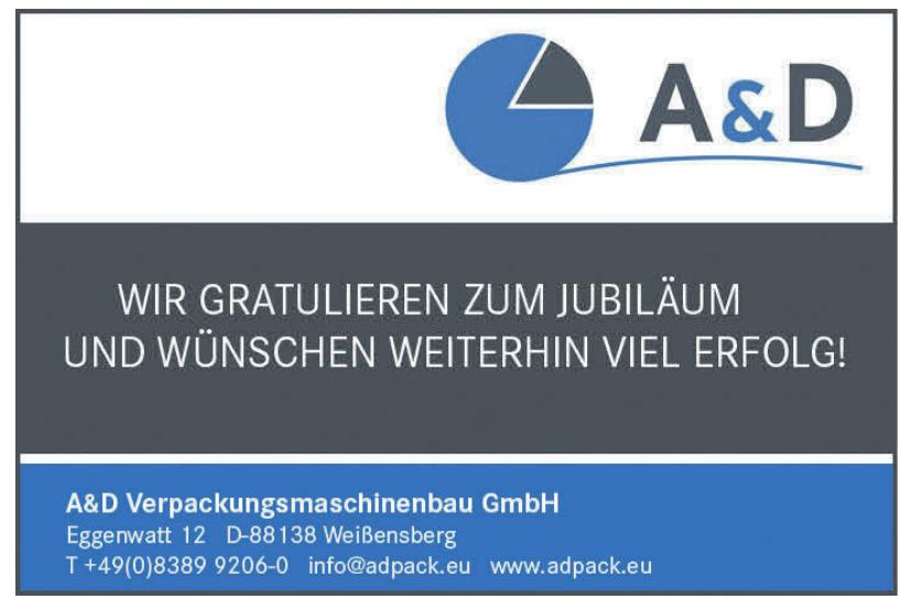 A & D Verpackungsmaschinenbau GmbH