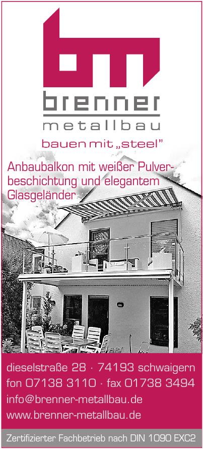 Brenner Metallbau