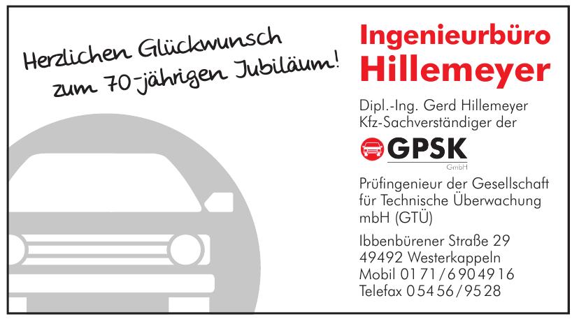 Ingenieurbüro Hillemeyer - Prüfingenieur der Gesellschaft für Technische Überwachung mbH (GTÜ)