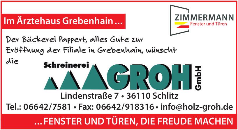 Schreinerei Groh GmbH