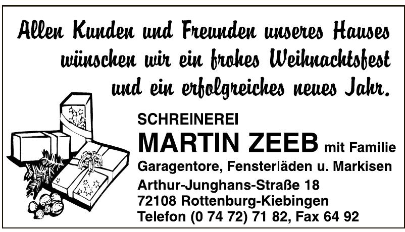 Martin Zeeb