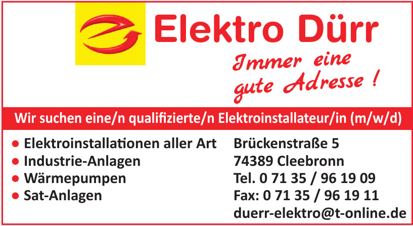 Elektro Dürr