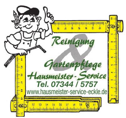 Hausmeister-Service-Eckle