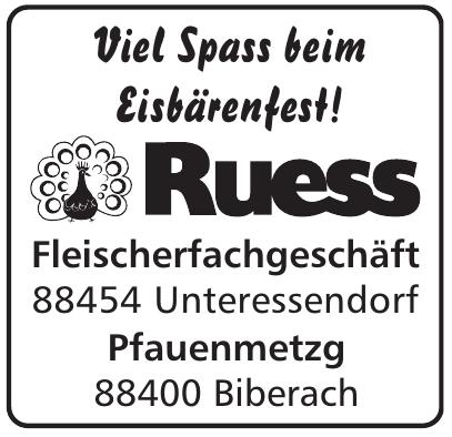 Metzgerei Ruess