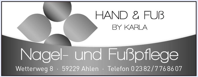 Hand & Fuß by Karla