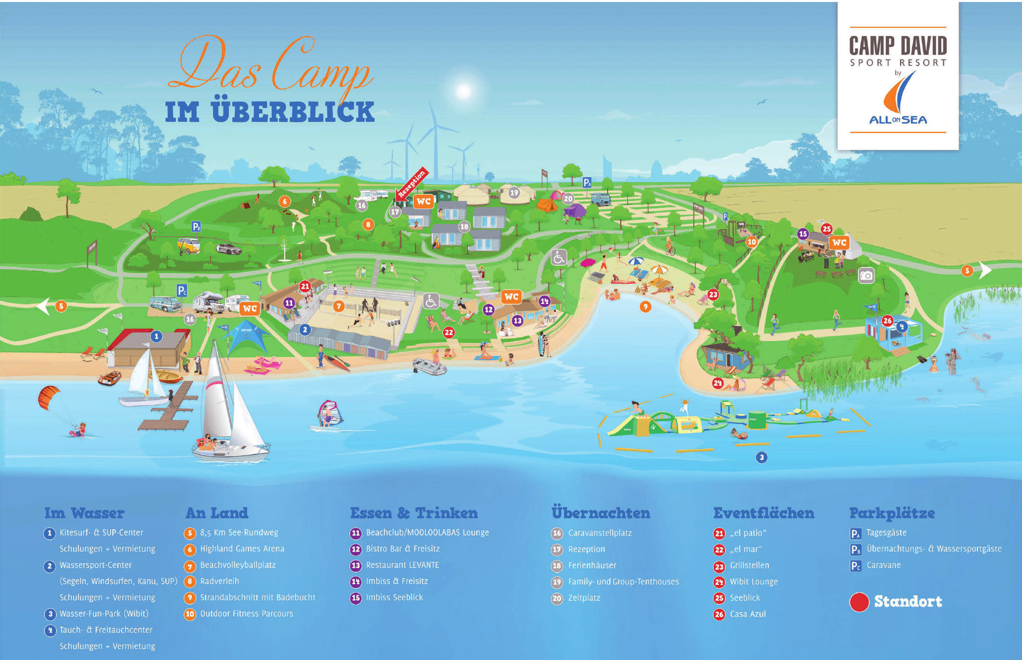Camp David Sport Resort by All-on-Sea