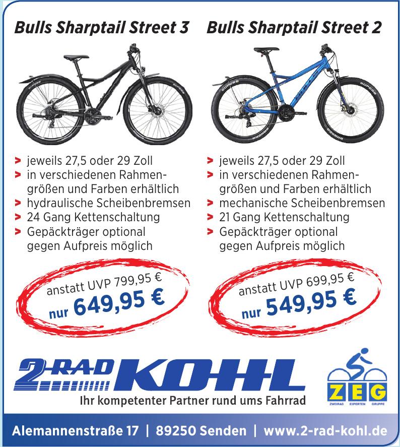 2 Rad Kohl