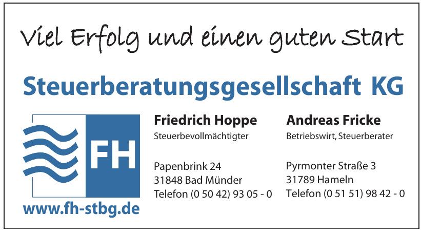 FH Friedrich Hoppe, Andreas Fricke Steuerbetungsgesellschaft KG