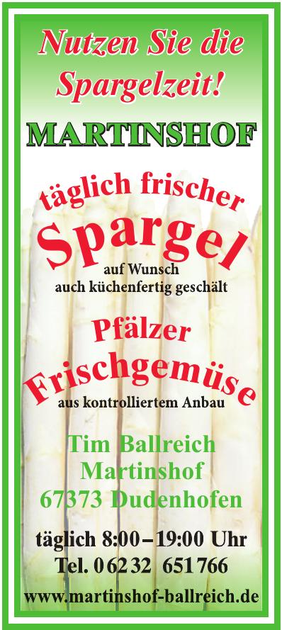 Tim Ballreich Martinshof