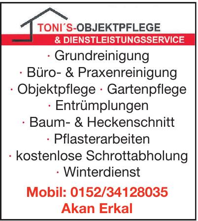 Toni´s-Objektpflege & Dienstleistungsservice