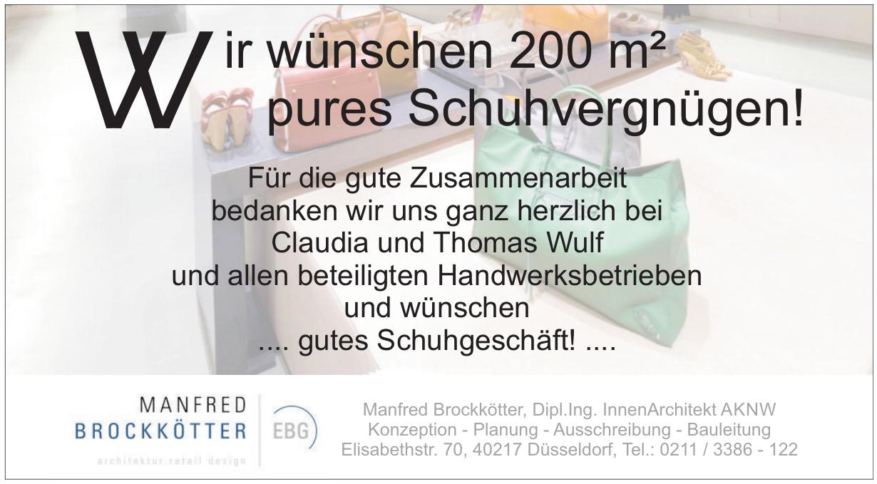 EBG Einzelhandels Beratungs Gmbh-Manfred Brockkötter