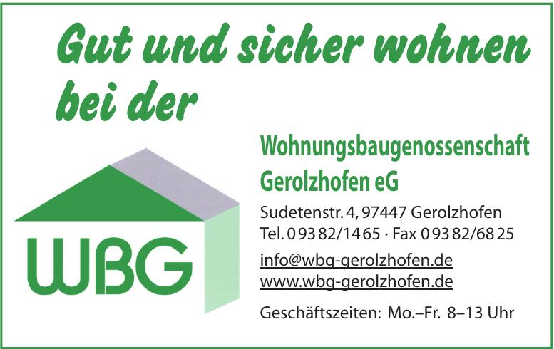 Wohnungsbaugenossenschaft Gerolzhofen eG