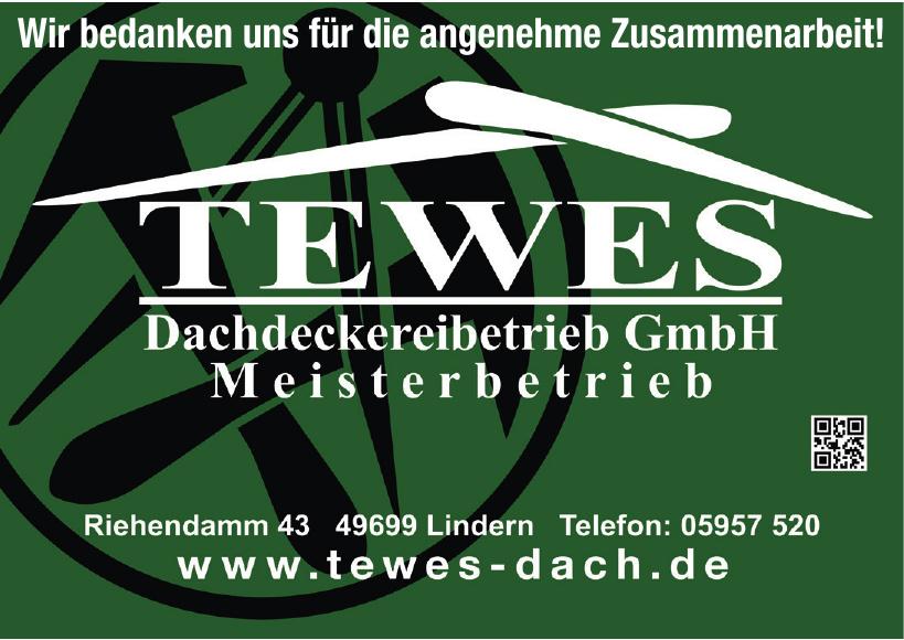 Tewes Dachdeckereibetrieb Meisterbetrieb GmbH