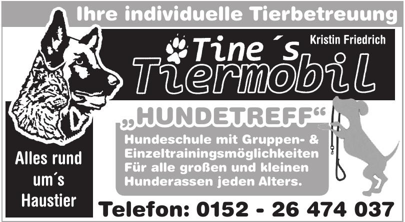 Tine's Tiermobil