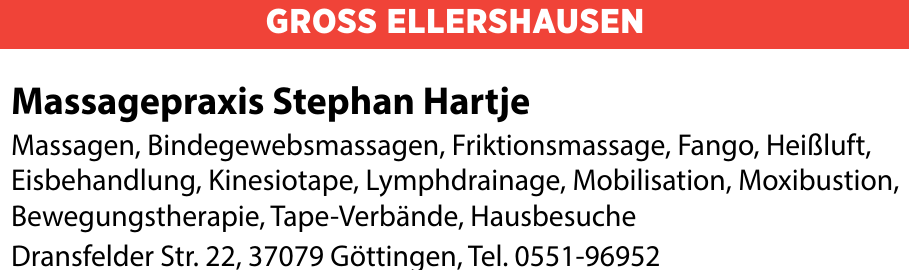 Massagepraxis Stephan Hartje