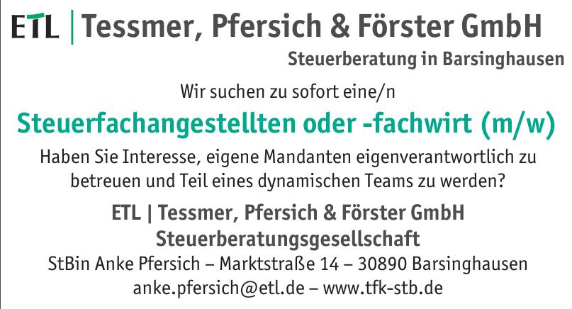 ETL - Tessmer, Pfersich & Förster GmbH Steuerberatungsgesellschaft
