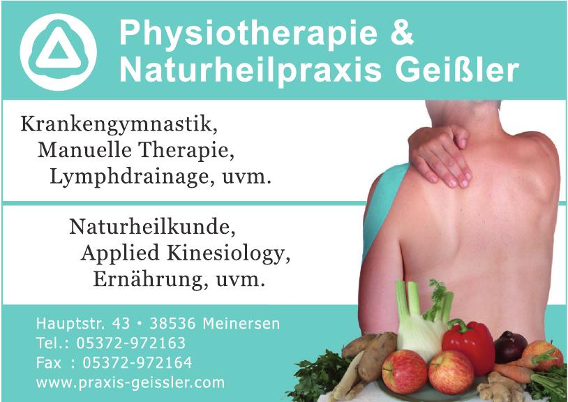 Physiotherapie und Naturheilpraxis Geißler