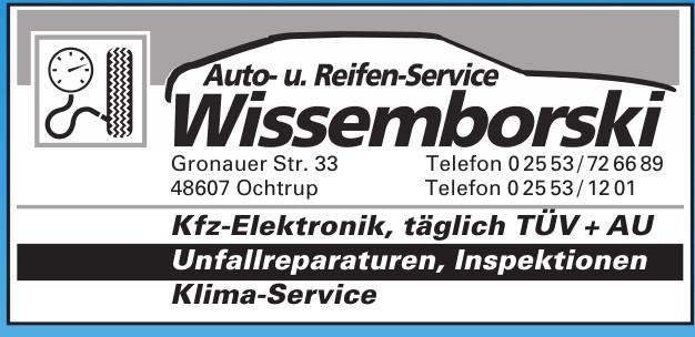 Auto- u. Reifen-Service Wissemborski