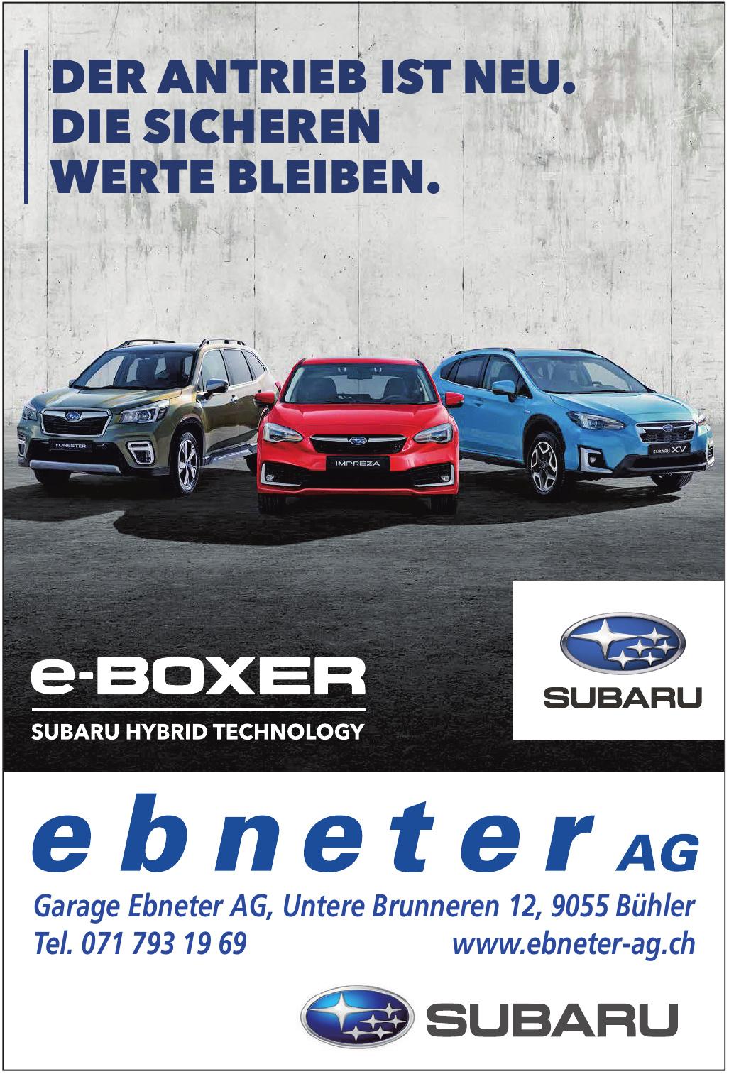 Garage Ebneter AG