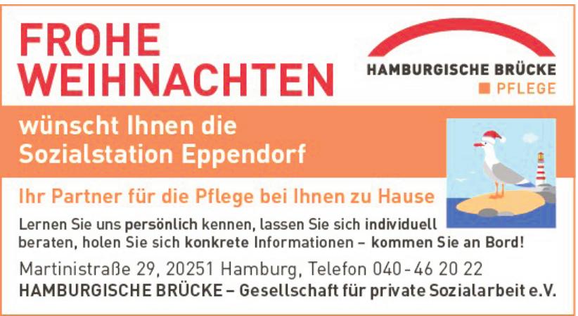 Hamburgerische Brücke – Gesellschaft für private Sozialarbeit e.V.