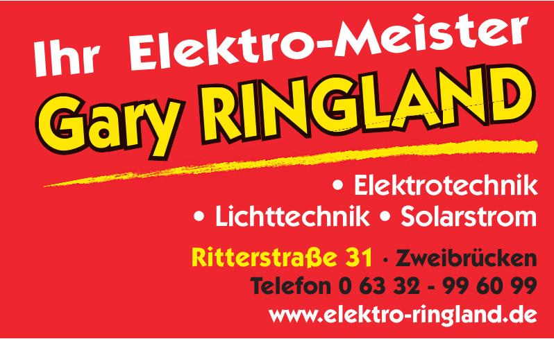 Gary Ringland Elektro-Meister